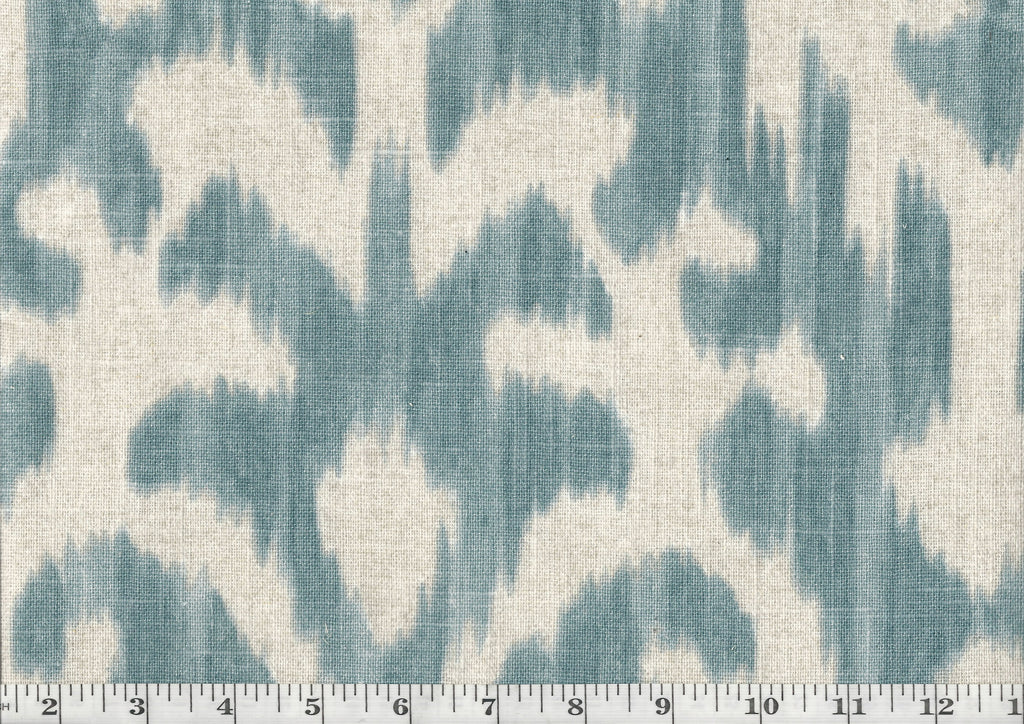 Tonal Ikat CL Could Drapery Upholstery Fabric by P Kaufmann