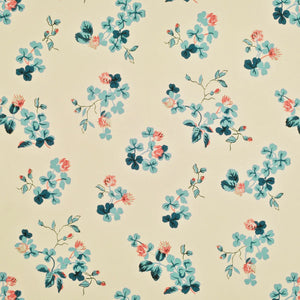 Trefoil Floral CL Clover Double Roll of Wallpaper  by Ralph Lauren