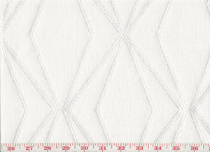 Trestle CL White Gold Drapery Upholstery Fabric by P Kaufmann