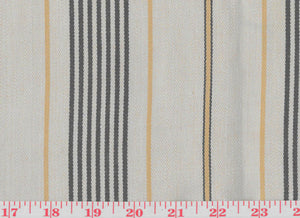 Trouville Ticking CL Khaki Drapery Upholstery Fabric by Ralph Lauren