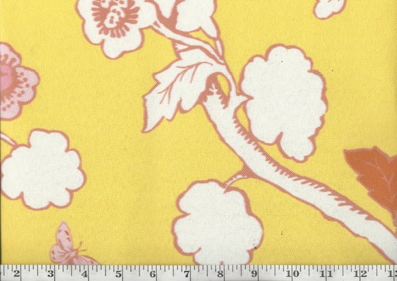 Turks Row CL Sunshine Drapery Upholstery Fabric by Madcap Cottage