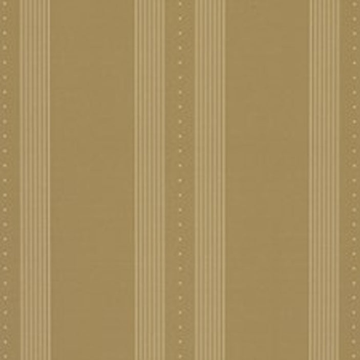Tuxedo Club Stripe CL Camel Double Roll of Wallpaper by Ralph Lauren