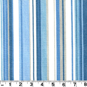 Victoria CL Lagoon Stripe Upholstery Fabric by Roth & Tompkins