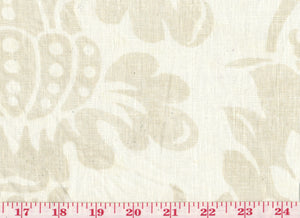 Villa Medici CL Linen Drapery Upholstery Fabric by Braemore Textiles