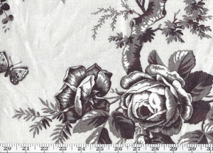 Vintage Ashfield Floral CL Chocolate Drapery Upholstery Fabric by Ralph Lauren
