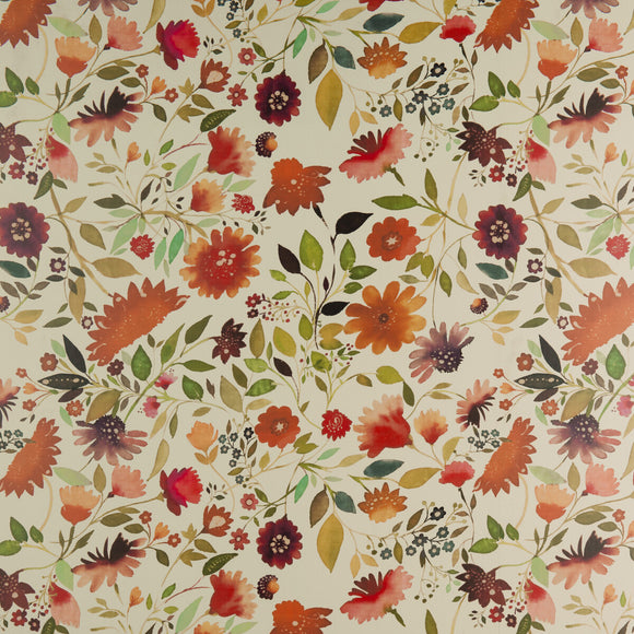 Jaipur Garden  CL Multi Double Roll of Wallpaper by Kravet