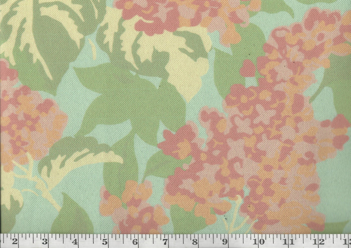 Walpole Cottage CL Rhubarb Drapery Upholstery Fabric by Madcap Cottage & David Rothschild