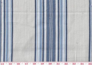 Waters Edge CL Indigo Drapery Upholstery Fabric by Braemore Textiles
