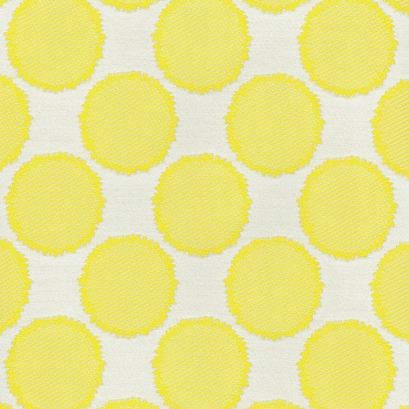 Well Rounded CL Lemongrass Drapery Upholstery Fabric by PK Lifestyles