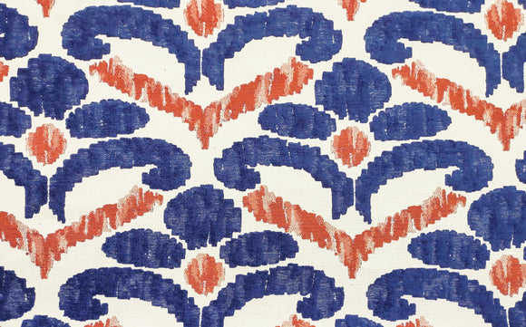Winnie CL Patriot Drapery Upholstery Fabric by DeLeo Textiles