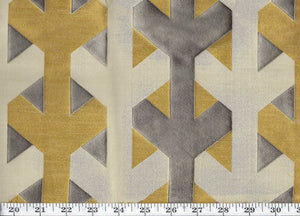 Y Not CL Metal Upholstery Fabric by American Silk Mills