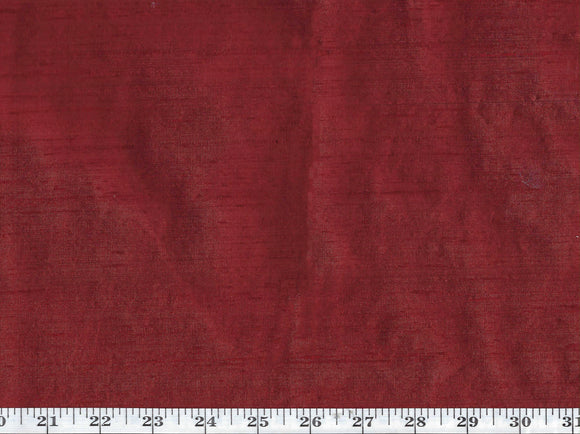 Zahara CL Hot Tamale Backed Silk Drapery Upholstery Fabric by American Silk Mills