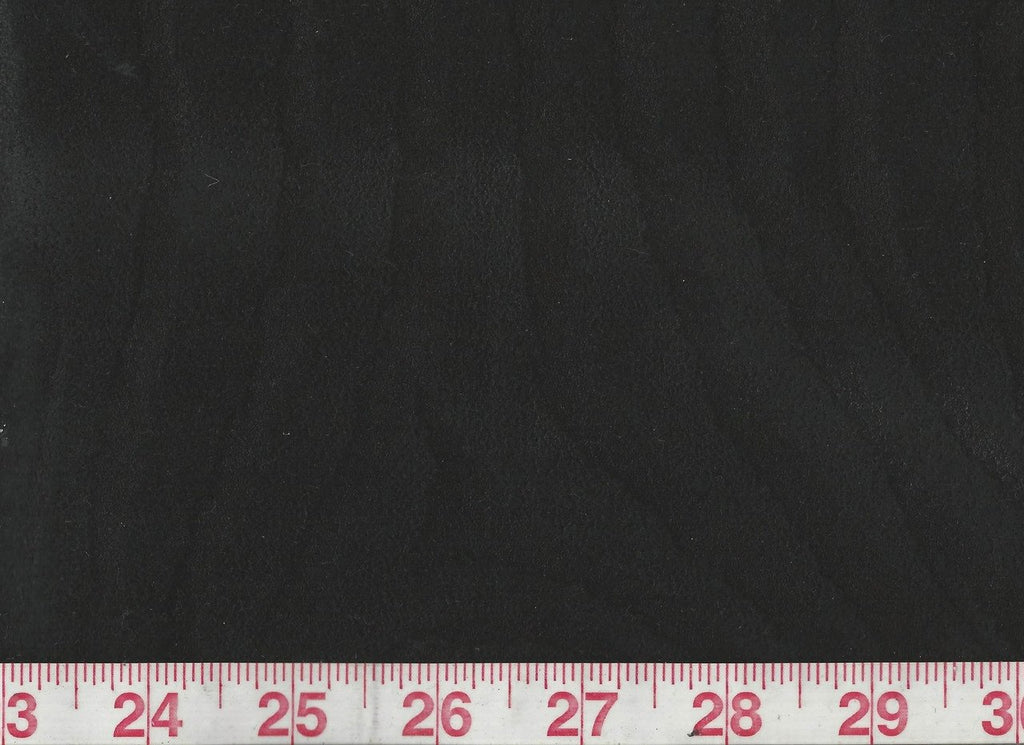 Zoolander CL Jet Black Suede Upholstery Fabric by American Silk Mills
