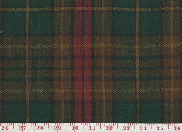Glenfiddish Cotton Twill Drapery Upholstery Fabric by Roth & Tompkins