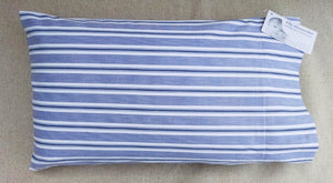 Baby Pillow Cover CL RL Winding Way ~ Shirting Blue