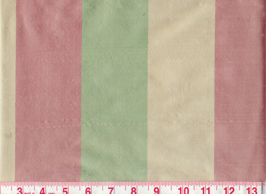 Poori CL Peppermint Drapery Fabric by American Silk Mills