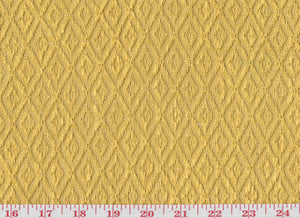 Ascott Diamond CL Yellow Upholstery Fabric by Clarence House