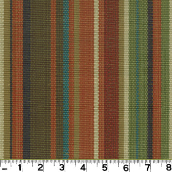 Bombay CL Red Earth Upholstery Fabric by Roth & Tompkins