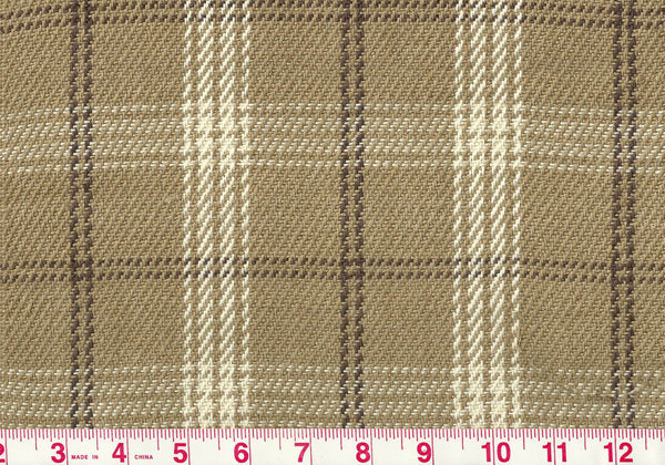 Judd Check CL Linen Upholstery Fabric by Clarence House