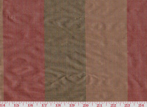 Poori CL Rose Drapery Fabric by American Silk Mills
