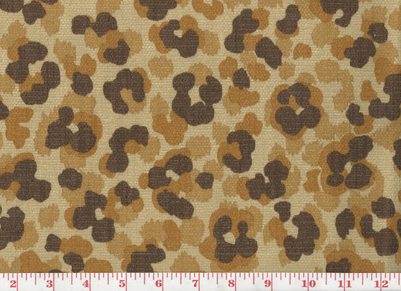 Jaguar CL Safari Drapery Upholstery Fabric by  P Kaufmann