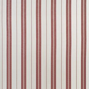 Adamson Stripe CL Vineyard Red Drapery Upholstery Fabric by Ralph Lauren