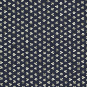 Aiko Floral CL Indigo Drapery Upholstery Fabric by Ralph Lauren