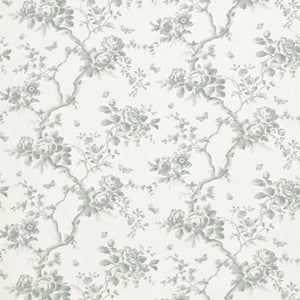 Ashfield Floral Sheer CL Dusk Drapery Fabric by Ralph Lauren Fabrics