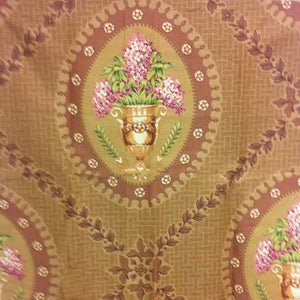 Palladian CL Mocha Drapery Upholstery Fabric by Vervain