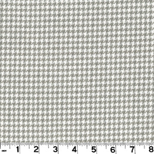 Minnie Check CL Gray Upholstery Fabric by Roth & Tompkins