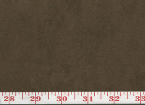 GEM 25 Suede CL Chocolate Upholstery Fabric by KasLen Textiles