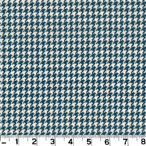 Houndstooth CL Navy Upholstery Fabric by Roth & Tompkins