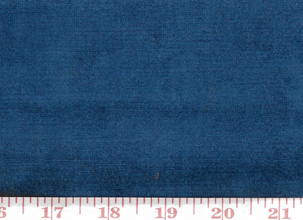 Cheeky Velvet CL Flow Blue (256) Upholstery Fabric