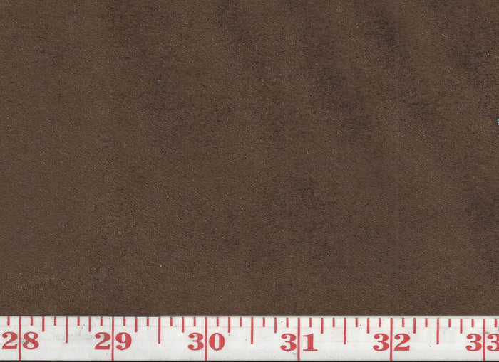 GEM 26 Suede CL Mocha Upholstery Fabric by KasLen Textiles