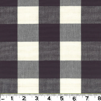 Lyme CL Charcoal Upholstery Fabric by Roth & Tompkins