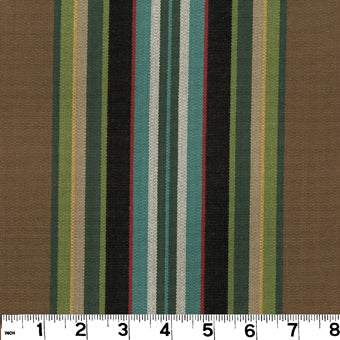 Carlton CL Walnut Upholstery Fabric by Roth & Tompkins