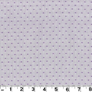 Swiss Dot CL Lilac Drapery Fabric by Roth & Tompkins