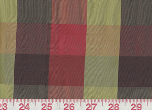 Masala CL Madras Drapery Upholstery Fabric by American Silk Mills