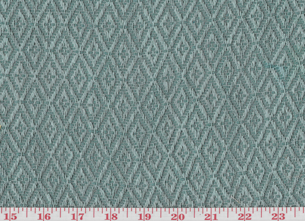 Ascott Diamond CL Aqua Upholstery Fabric by Clarence House
