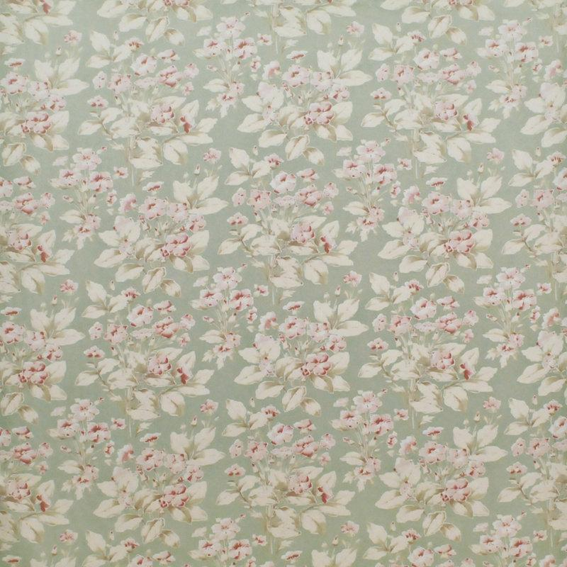 Behind the Pond CL Celadon Drapery Fabric by Ralph Lauren