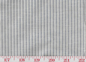 Pinstripe CL Chambray Drapery Upholstery Fabric --  the Radiate Collection