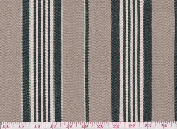 Summerfield Stripe CL Navy Drapery Upholstery Fabric by Golding Fabrics