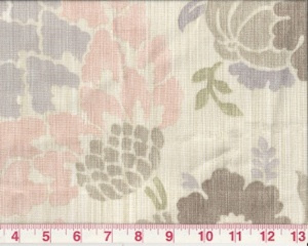 Soft Whisper CL Amethyst Drapery Fabric by Braemore Textiles