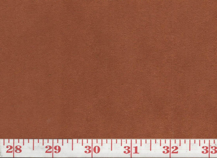 GEM 19 Suede CL Cinnamon Upholstery Fabric by KasLen Textiles