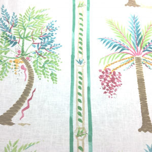 Palm Island CL Tropic Drapery Upholstery Fabric by Braemore Textiles