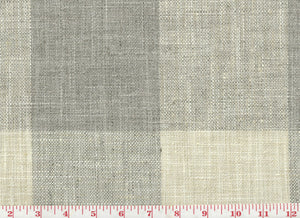 Check Please CL Moonstone Drapery Upholstery Fabric by P Kaufmann