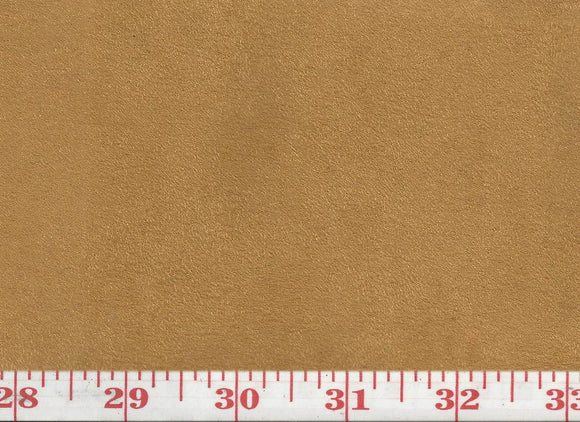 GEM 15 Suede CL Amber Upholstery Fabric by KasLen Textiles