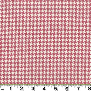 Houndstooth CL Blossom Upholstery Fabric by Roth & Tompkins