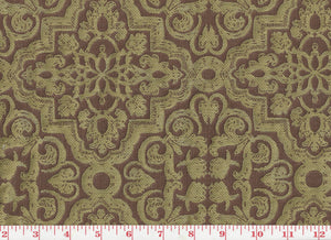 Fosca CL Maroon Drapery Upholstery Fabric by Clarence House