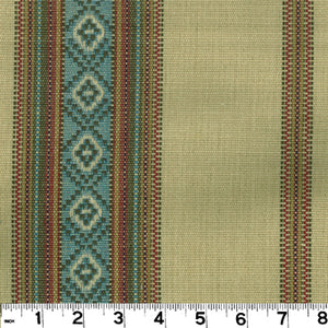 Sandoval Serape CL Tortilla Drapery Upholstery Fabric by Roth & Tompkins